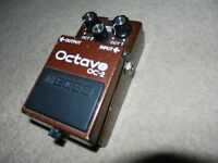Boss OC 2 Octave Pedal -Made in Japan Black Label