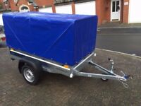 BRAND NEW FARO PONDUS CAR BOX TRAILER BRAND NEW 750KG