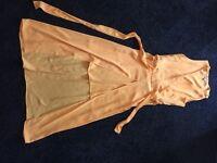 River Island Yellow dress - Size 8 - £10
