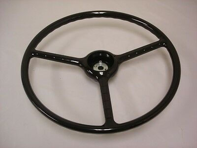 1948 - 1952 Ford Pickup Truck Steering Wheel Black F1 - For Original Column