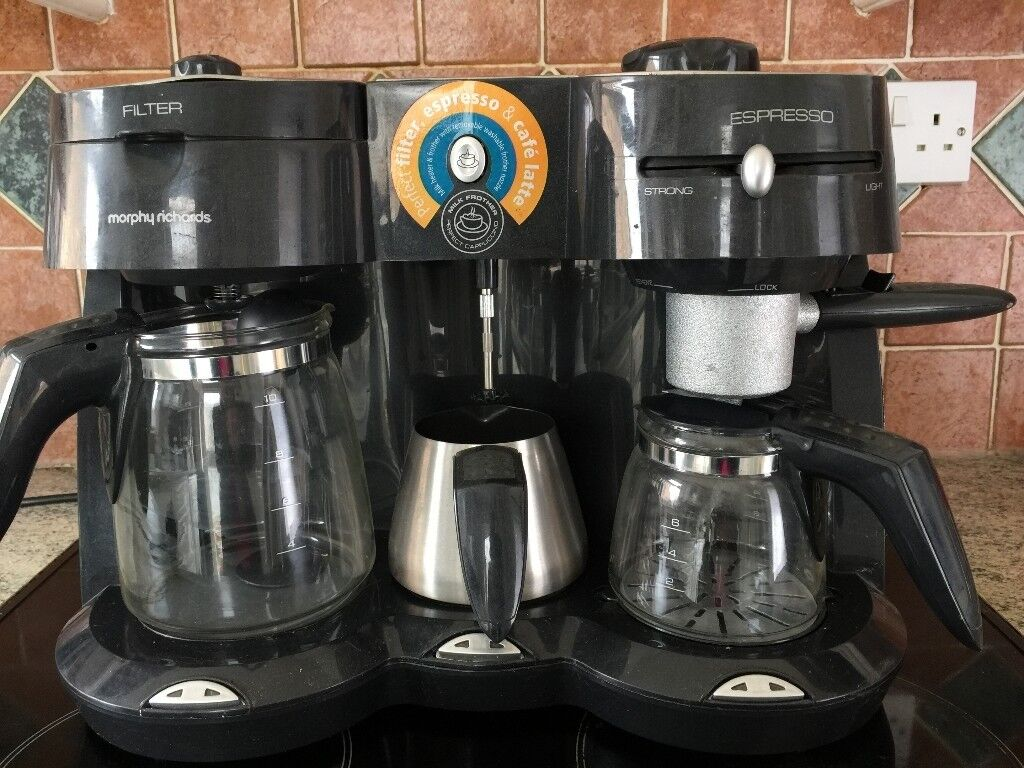 Morphy Richards 47004 Cafã Rico Combi Coffee Maker With Milk Frother 10 Cup Office In Chester Le Street County Durham Gumtree