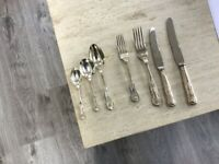 Kings silver cutlery