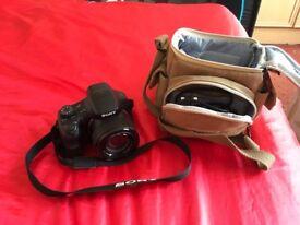 Sony cybershot 20mpix Carl Zeiss lens 50x optical zoom camera