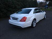MERCEDES-BENZ S CLASS 3.0 S350 CDI BlueEFFICIENCY 7G-Tronic 4dr Auto (white) 2011