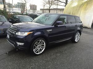 2014 Land Rover Range Rover Sport V8 Supercharged!! Local, No Ac