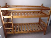 Solid Pine Childrens Bunk Beds 2' 6""