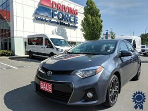 2016 Toyota Corolla S 5 Passenger Front Wheel Drive, 1.8L Gas