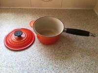 Le Creuset 16cm cast iron saucepan