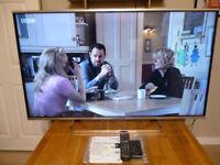 Panasonic TX-48AX630B 48 Inch 4K 3D TV boxed with both remotes and manual