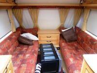 Elddis Advanti 2 berth caravan 2004 end bathroom