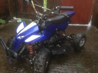 50cc mini Moto quad works grate