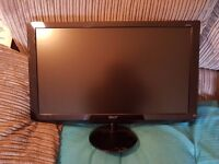 """Acer 21"""" LCD Monitor Mint Condition £80 No Offers Possible Delivery"""