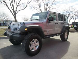2014 Jeep Wrangler Unlimited Sport*LIFT KIT*2 ROOFS*BLUETOOTH*8