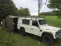 Land Rover 110 TD5 Expedition ready