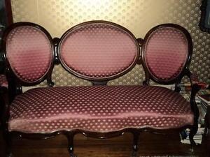 Antique Rosewood Cameo Couch Regina Regina Area image 1