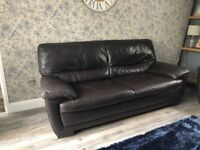 3+2 seater leather suite