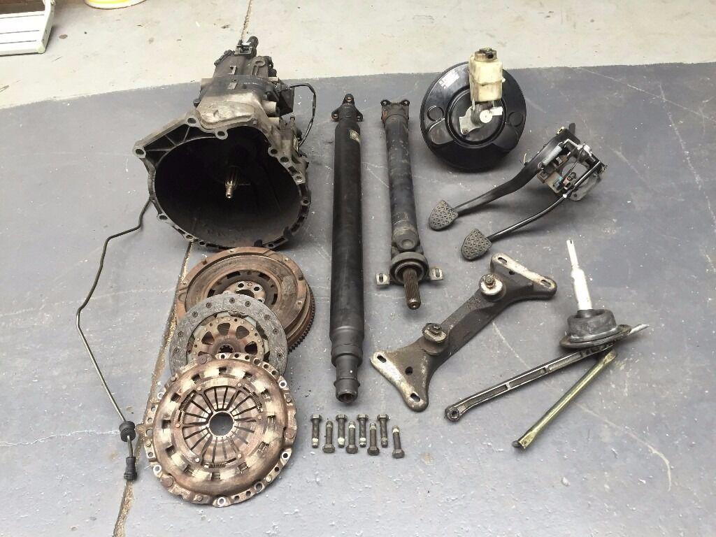 BMW E36 323i Manual Getrag Gearbox Conversion, DMF & Clutch, Prop Shaft -  318is