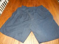 Mens Navy Sport Shorts Medium