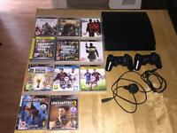 PS3 Console , games ,controllers and connections for sale