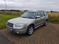 Subaru Forester Estate 4x4 06 Reg Very low miles