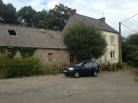 House in France, Brittany farm house 5 bed, plus loft, plus barn,