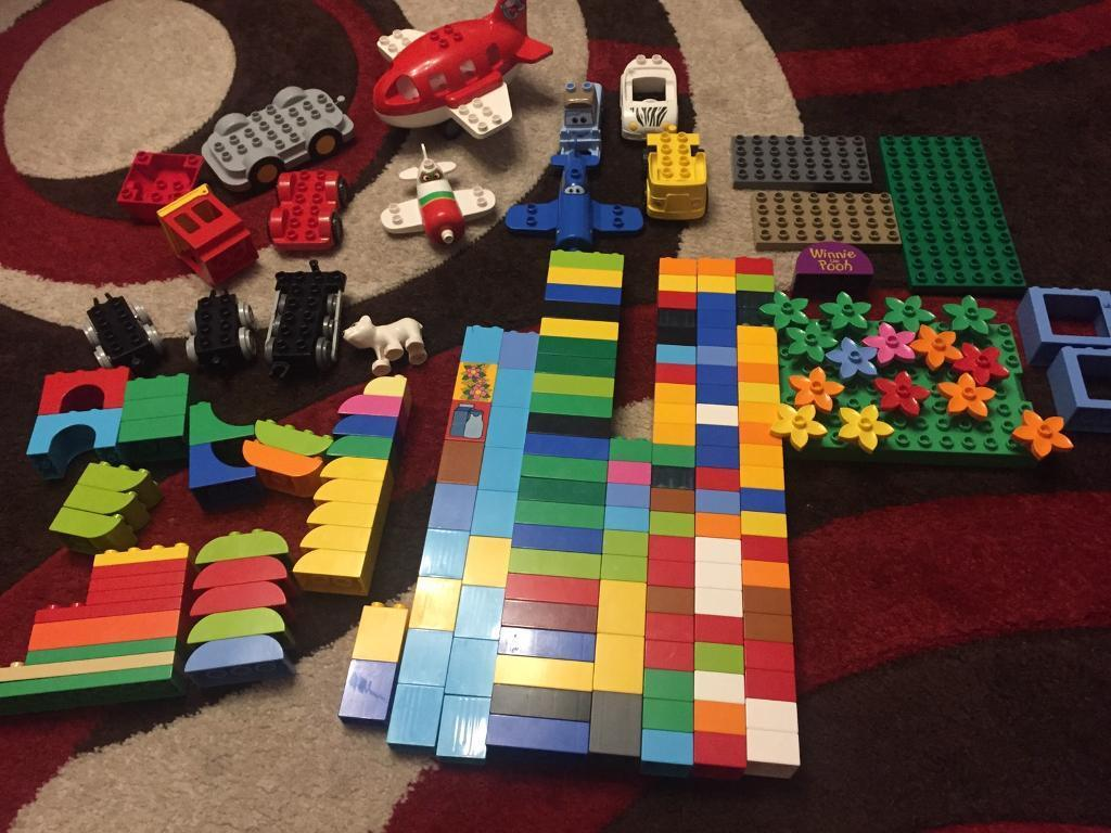 Lego Duplo - Planes / Flowers / Blocks Bricks