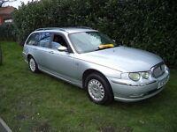 Rover 75 Connoisseur Cdt Tourer (aluminium silver) 2002