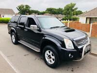 *2007* ISUZU RODEO DENVER MAX DE 2.5 CRD 4x4 CREW CAB PICK UP