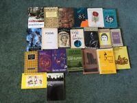 22 poetry books for sale
