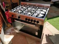 Baumatic Range Gas Cooker and Oven with Grill 90cm - 5 Burners