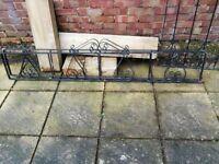 Garden railings - Wrought iron