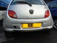 Ford KA Rear Bumper _ Fitted with Body Kit Lower spoiler --- 2004