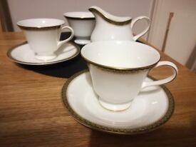 Wedgwood tea set / cup / milk jug / sugar bowl