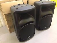 Great Condition MACKIE SRM450 v2 Active PA Speakers - NO OFFERS!!