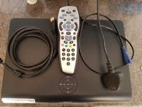 Sky + HD Box, Cables and Remote Control