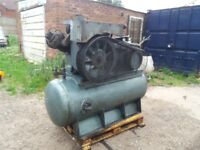 Ingersoll rand type 30 compressor 180cfm