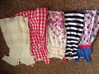 Girls dress bundle (5 dresses) Age 6 – 7yrs £ 15