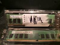 2 x 4gb DDR4 RAM/Memory