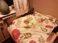 Single Bed, mattress, duvet & pillows