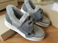 Brand new Cobbler & Concept shoes grey size 4