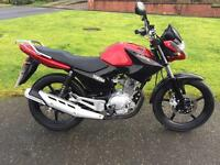Yamaha YBR 125 (2016) Injection One owner. Only done 750 mile