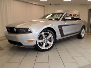 2012 Ford Mustang GT, Convertible, Mags, A/C, Automatique