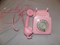 Pink Dial Up Telephone (SSTC)