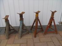 four car axle stands heavy duty