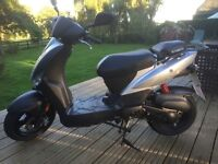 November 2015 Kymco Agility 50cc scooter/moped