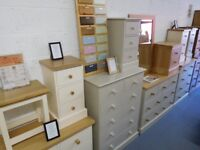 Brand New Ex-Display Pine & Oak Furniture For Sale