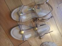 Russell and Bromley Sandals. Size 5