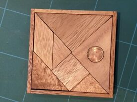 Tangram - Wooden Puzzle Game