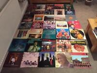Job lot of 140 vinyl Lp's and 12 inches and box sets