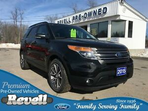 2015 Ford Explorer XLT 4WD  *Appearance Pkg Moonroof Leather Nav